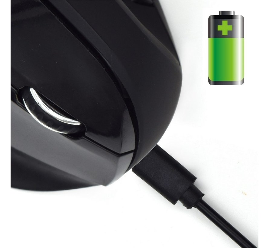 Wireless Ergonomic mouse rechargeable