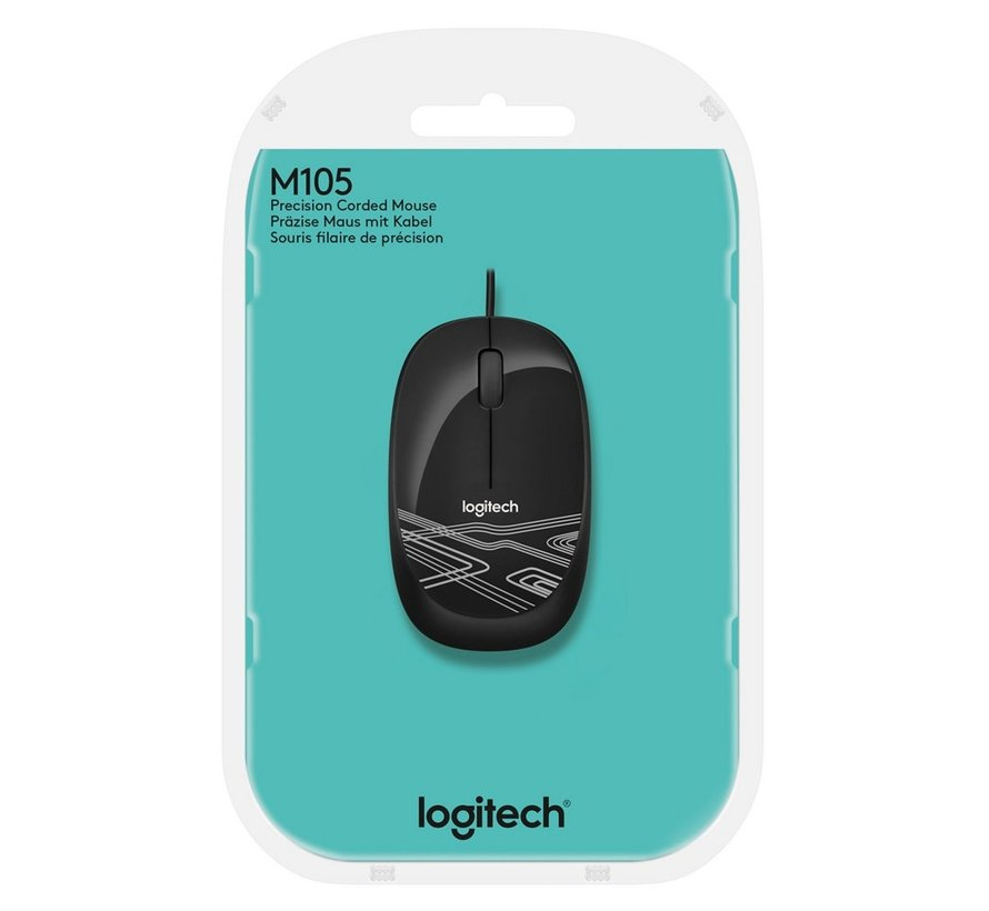 M105 Mouse 1000dpi USB Optiical Black