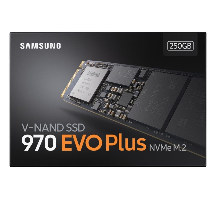 SSD  970 Evo Plus 250GB NVME M.2  3500MB/s / 2300MB/s