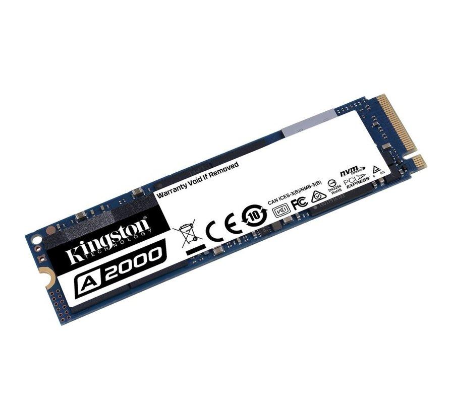 SSD A2000 250GB NVMe M.2 2000MB/s read 1100/MB/s