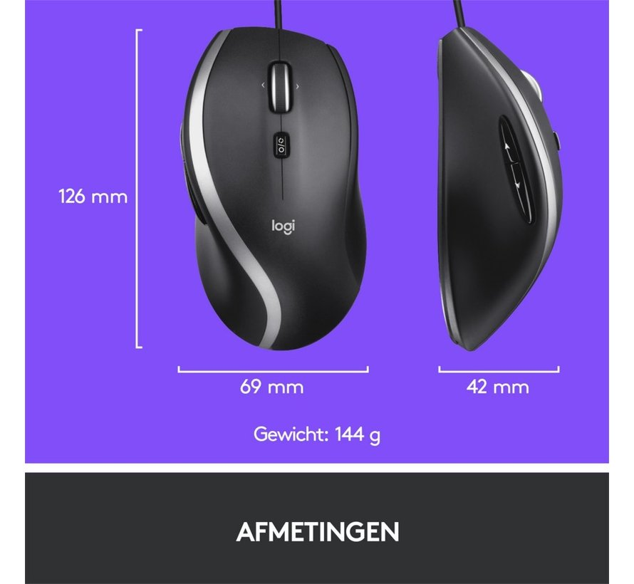 Advanced Corded Mouse M500s