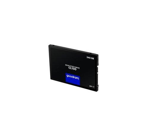 Goodram SSD  CL00 240GB ( 520MB/s Read 400MB/s)