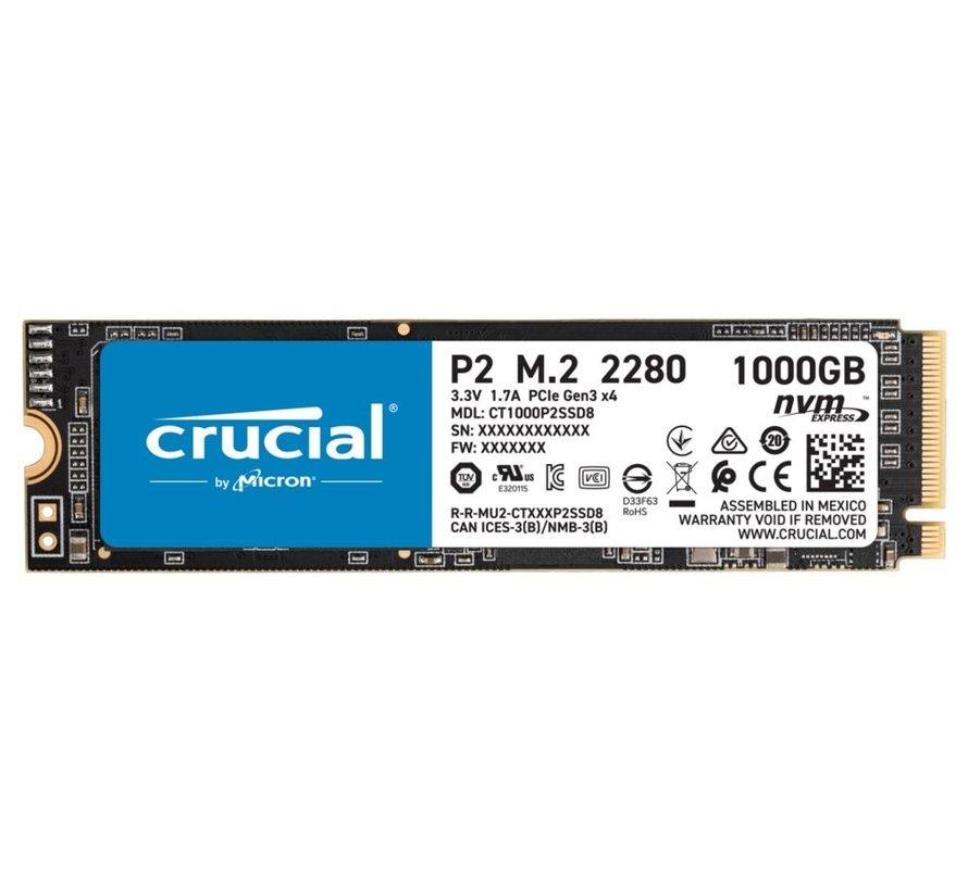 SSD  P2 M.2 1TB PCI Express 3.0 NVMe
