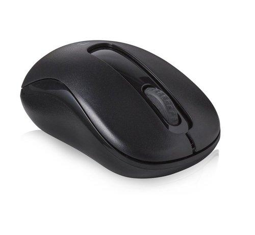 Rapoo M10Plus 1000dpi Optical Mouse - Black
