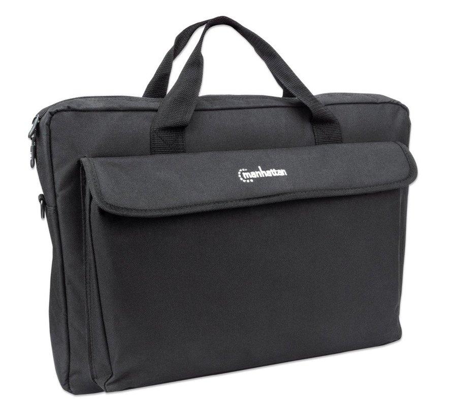 "Manhattan Notebook Bag 17.3"" Black"