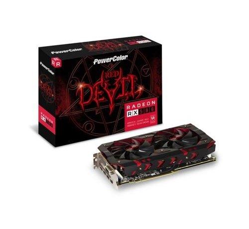 Powercolor VGA PowerColor Red Dragon AXRX 580 AMD Radeon RX