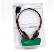 Ewent EW3563 hoofdtelefoon/headset Hoofdband Zwart