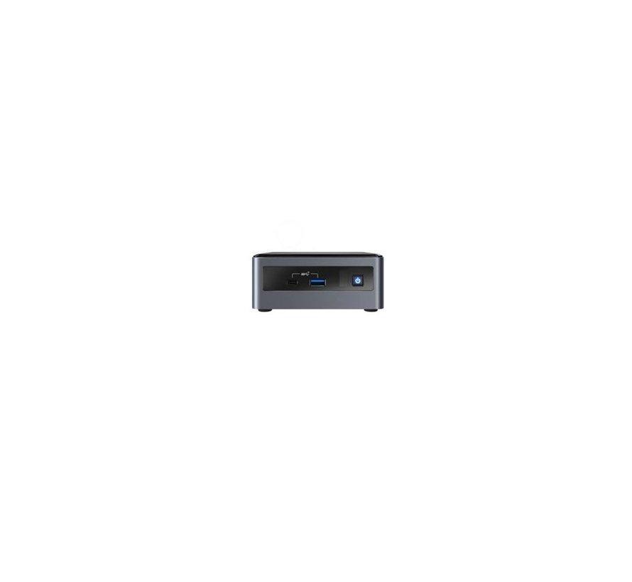 NUC PC/workstation barebone i7-10710U 2.5inch / M.2