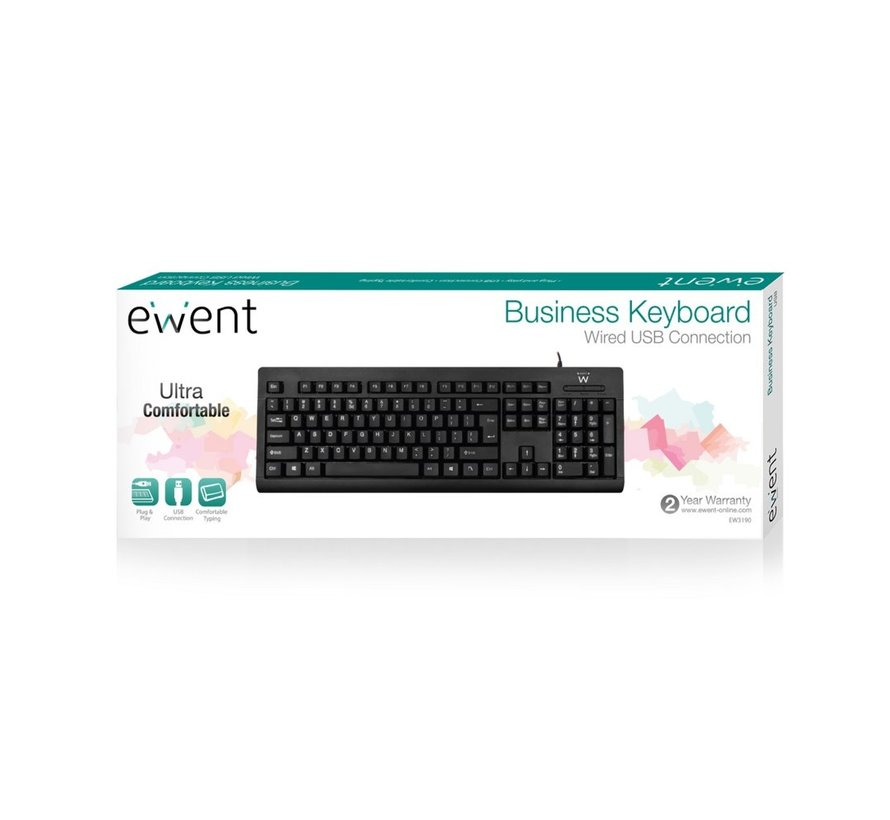 Keyboard US lay-out USB  Business Model