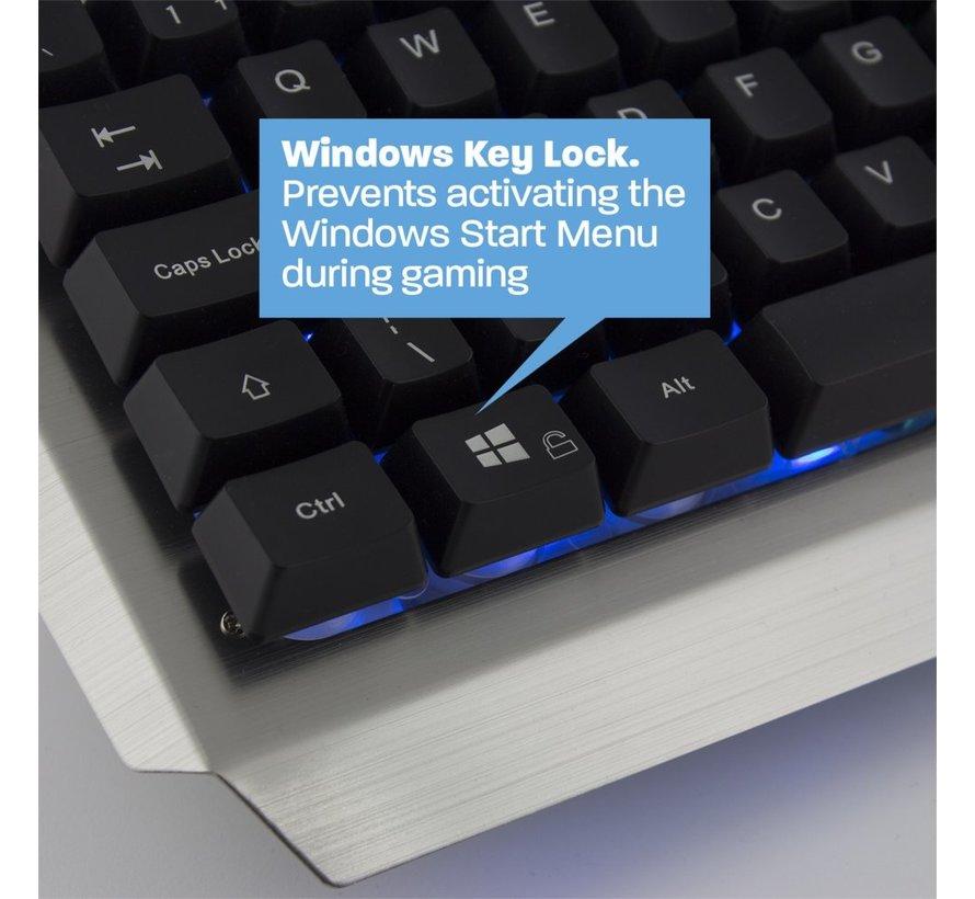 Play Gaming Keyboard illuminated US layout