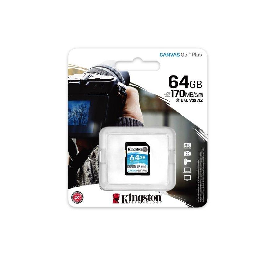 Technology Canvas Go! Plus flashgeheugen 64 GB SD K