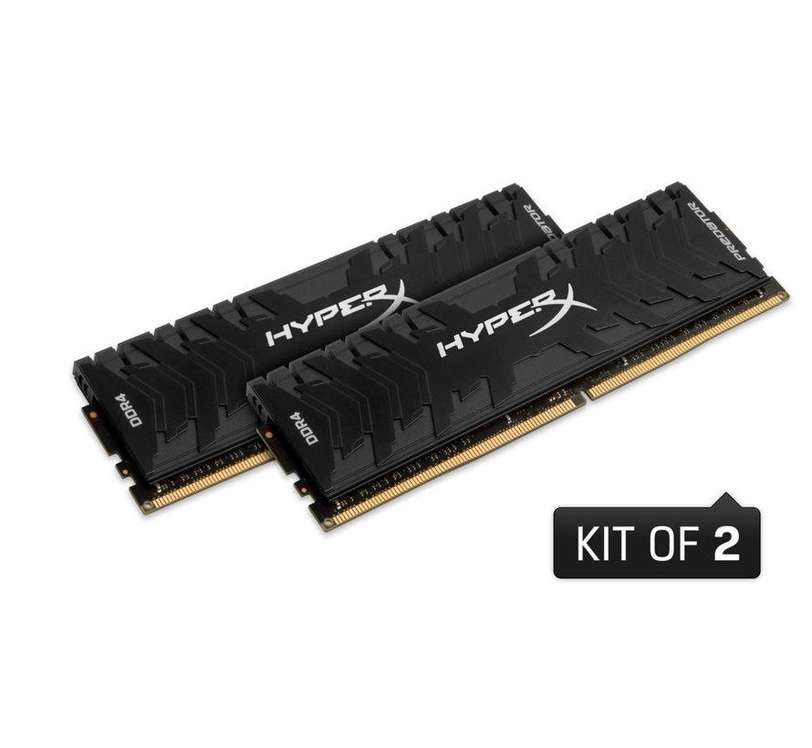 MEM  HyperX Predator 32 GB 2 x 16 GB DDR4 2666 MHz (refurbished)