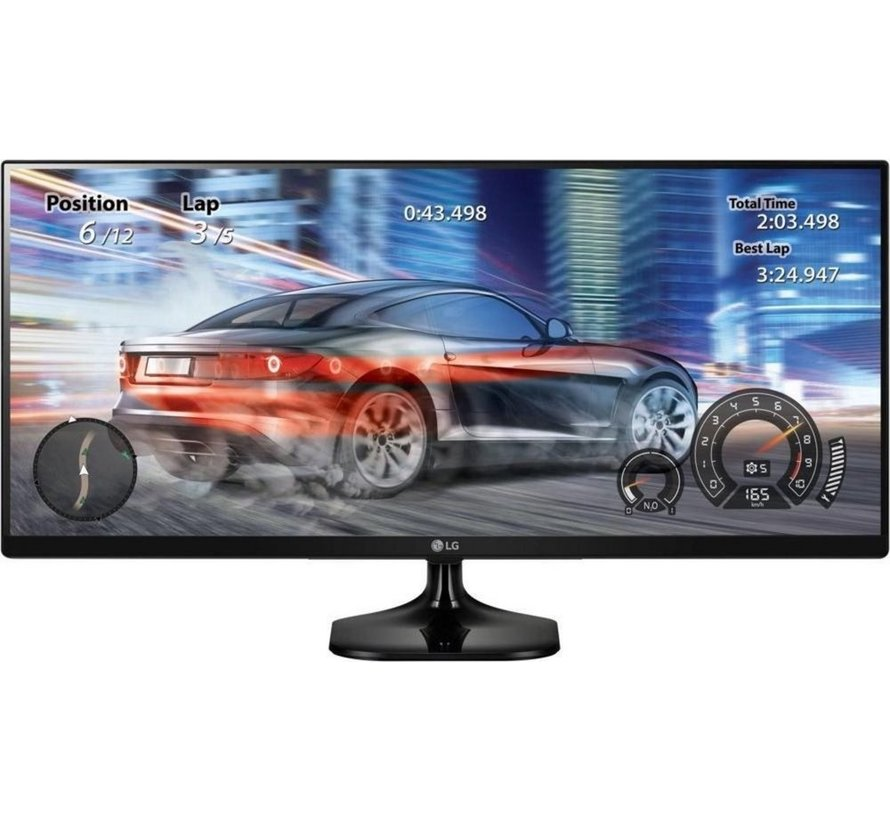 Mon  25UM58-P 25.0 inch UltraWide QXGA / HDMI / Zwart (refurbished)