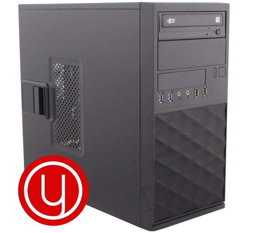 YOURS RED / INTEL I5 10TH / 8GB / 2TB / 240GB SSD / W10 (refurbished)