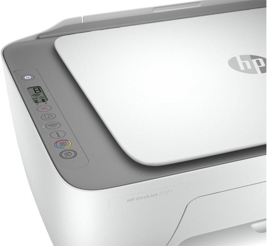 HP Deskjet Printer 2721 AiO / Color / WiFi