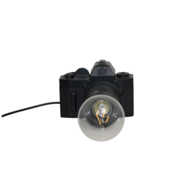 Housevitamin® CAMERA LAMP ZWART