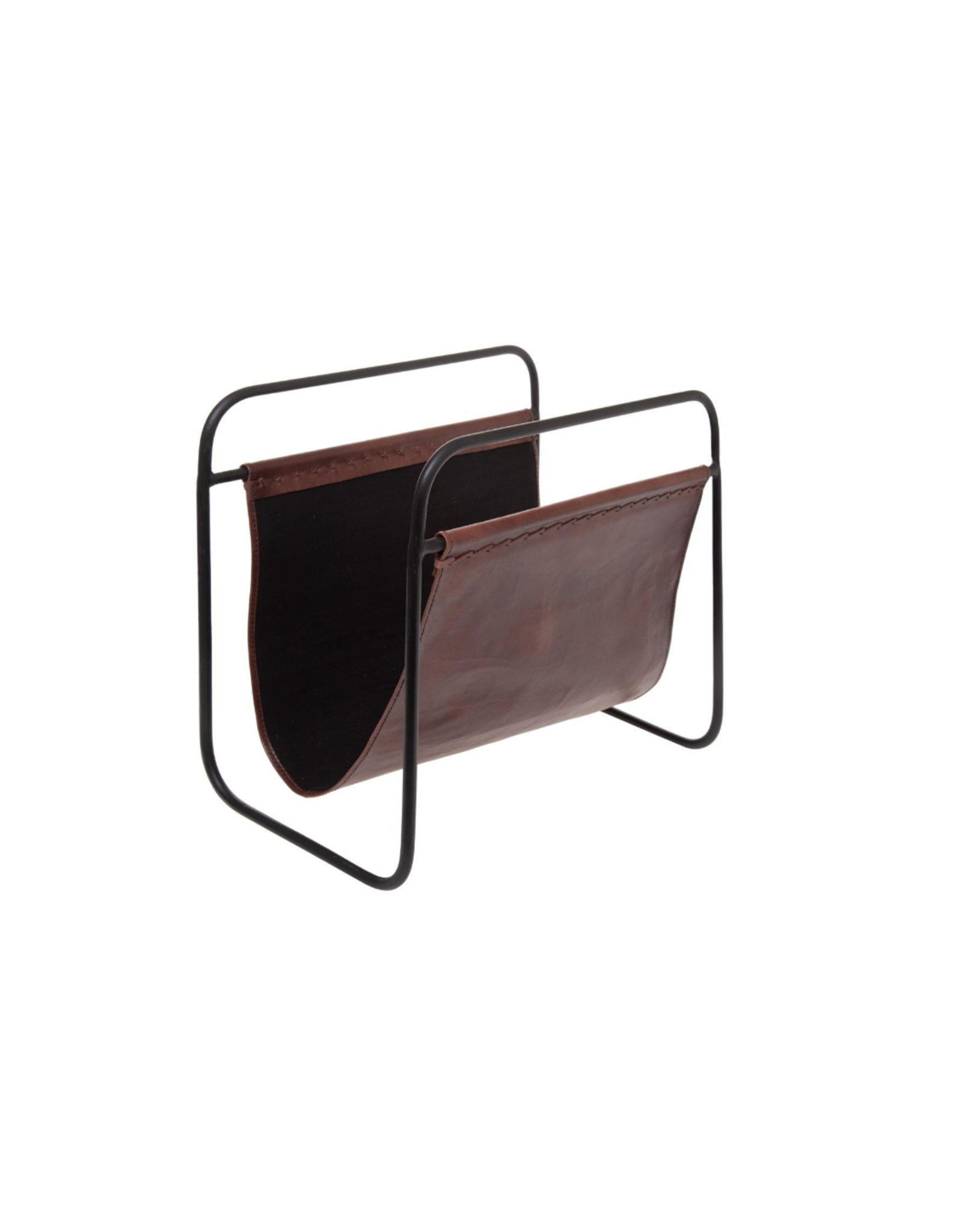 LOFT030 LEATHER MAGAZINE HOLDER