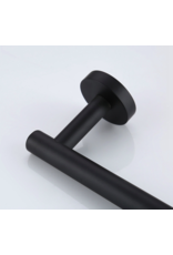 CoshX®  CoshX® toiletrolhouder rond zwart gecoat