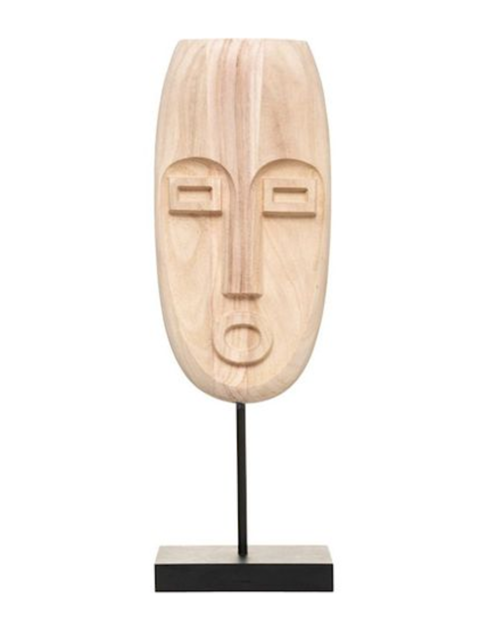 LOFT030 Houten masker Safari Ornament Hoogte 47cm
