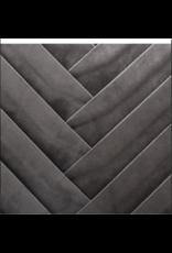 LOFT030 Sierkussen velvet vierkant grijs 40 x 40 cm