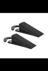 LOFT030 Deur stopper zwart met deurhanger set X2 PCS