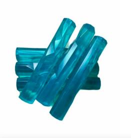 LOFT030 Grote ijsstick 6 stuks 11.5 cm blauw ARTIC