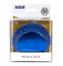 PME PME Baking Cups Metallic Blue pk/30