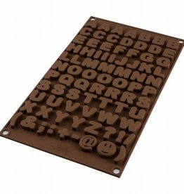 Silikomart Silikomart Chocolate Mould Choco ABC