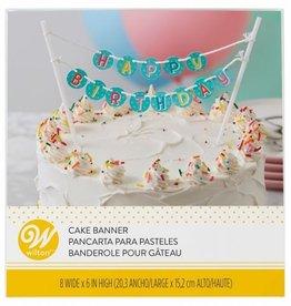 Wilton Wilton Cake Banner Happy Birthday