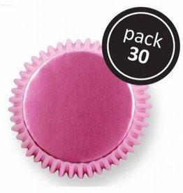 PME Baking Cups Metallic Pink Pk/30