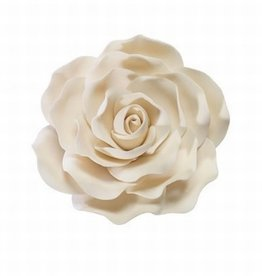 Culpitt Suikerbloem Roos Ivoor 11 cm