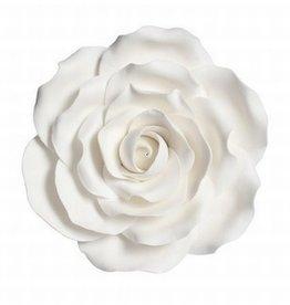 Culpitt Suikerbloem Roos Wit 10 cm