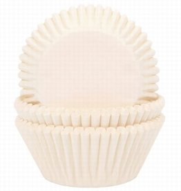 House of Marie Baking Cups Ivoor pk/50