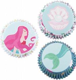 PME Baking Cups Mermaid pk/60