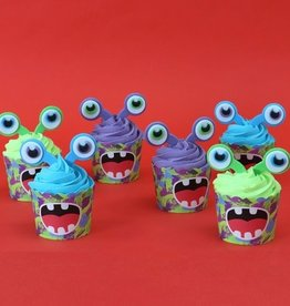 PME Cupcake Decoratie Set Aliens