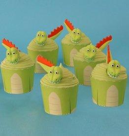 PME Cupcake Decoratie Set Dinosaurus