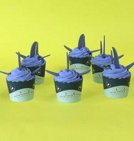 PME Cupcake Decoratie Set Haaien