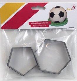 Dekofee Dekofee Voetbal Uitsteker Set/2