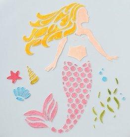 Cake Star Sjabloon Zeemeermin/Mermaid