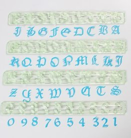 FMM FMM Alphabet & Numbers Tappits The Old English