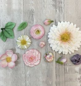 Karen Davies Karen Davies Siliconen Mould - Buttercream Flowers