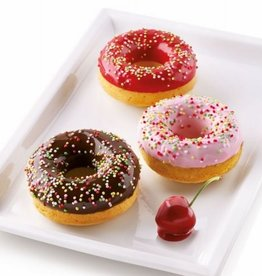 Silikomart Silikomart Silicone Donut Mould