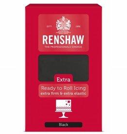 Renshaw Rolfondant Extra 1kg -Black-