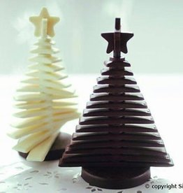 Silikomart Silikomart Chocolate Mould 3D XMAS Tree