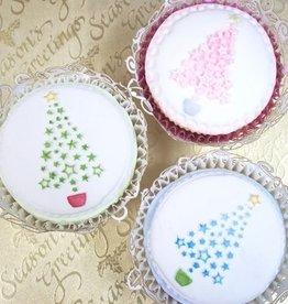 Katy Sue Cupcake Topper Mould Christmas Tree