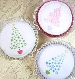 Katy Sue Designs Katy Sue Cupcake Topper Mould Christmas Tree