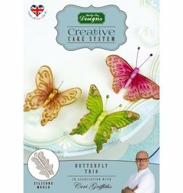 Katy Sue Designs Katy Sue Mould Cake System Butterfly Trio