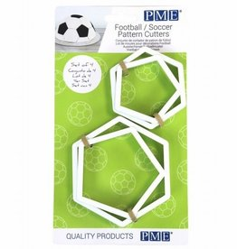 PME Football/Soccer Pattern Cutters Set/4