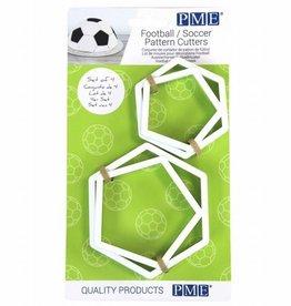 PME PME Football/Soccer Pattern Cutters Set/4