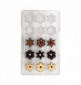 Decora Chocolate Mould Flowers
